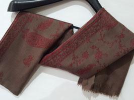 Fine Cashmere shawl 75x200cm  FCSB-6548