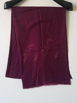 Cashmere scarf border design 75x200cm  MPB-777