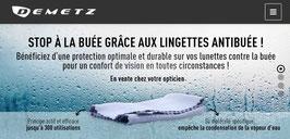 Lingette anti buée Demetz