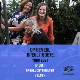Ticket 10 juli Openluchttheater Velden
