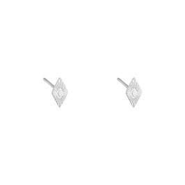 "Ohrstecker ""Aztec Diamond Silber"""