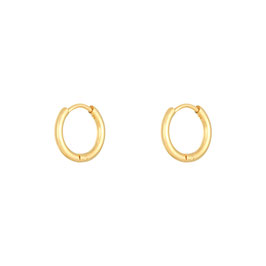 "Mini Hoops ""Basic Baby Gold"""