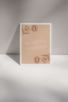 POSTKARTE MY LITTLE VALENTINE