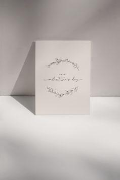 Postkarte VALENTINE'S DAY