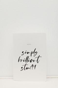 SIMPLY BRILLANT - NOTZHEFT