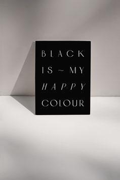 Postkarte BLACK