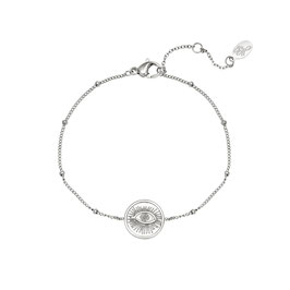 ARMBAND STARRY EYED - SILBER