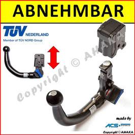 Audi A3  Bj. 07/2008-01/2013 Anhängerkupplung abnehmbar vertikal - ohne Elektrosatz