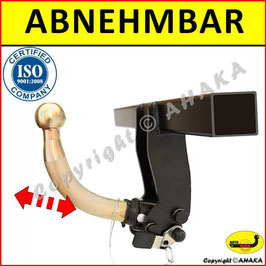 Seat Mii Bj. ab 2012 - Anhängerkupplung abnehmbar mit Hebelsystem - AUTO-HAK
