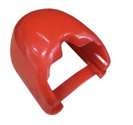 Gummi - Stoßstangenschutz für Anhängerkupplung – rot