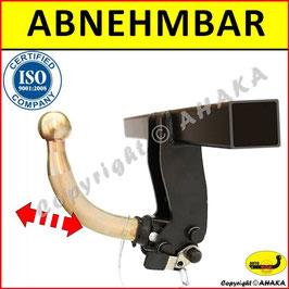 Kia Venga Bj. 2014 - Anhängerkupplung abnehmbar mit Hebelsystem - AUTO-HAK