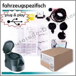 Audi A4 B6 11/2000 - 10/2004 Elektrosatz 13-polig fahrzeugspezifisch Anhängerkupplung