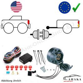 Universal Elektrosatz für US-Importfahrzeuge 7/13-polig - unterstützt LED (sowohl Auto als Anhänger)