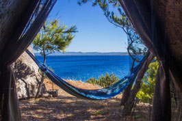 8 Days of Hatha Yoga, Hiking and Off-the-Grid Beach-Front Camping on Hvar Island, Croatia