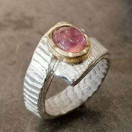 Frühlings-Ring mit Rosa Turmalin