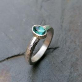 Feiner Silber-Ring mit Turmalin