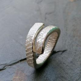 Ossa-Sepia Silber-Ring offen