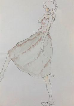 【スカートの女】