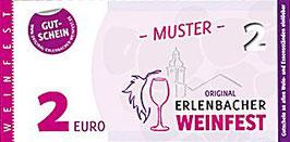 Weinfest Wertgutscheine