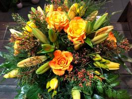 Saisonstrauß gelb-orange standard