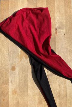 Maske rot/schwarz