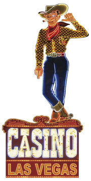 Las Vegas Casino Cowboy