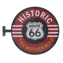 Route 66 - The Wall Sign