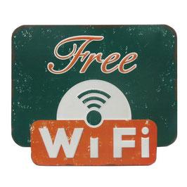 Free WiFi - Grün & Orange
