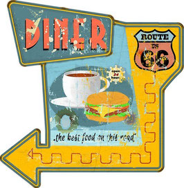 Diner On Route 66