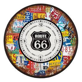 Route 66 - Wanduhr