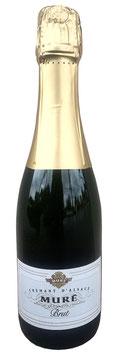 Crémant d' Alsace brut - mich gibt es auch in klein (0,375 Liter) - Muré - Rouffach - Elsass - Franfreich