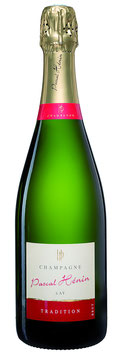 Champagner Pascal Hénin - Tradition brut - 0,375 Liter Flasche - Ay - Frankreich