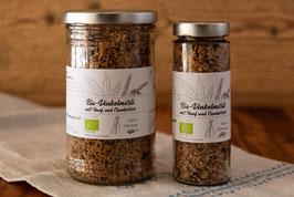 Bio-Dinkelmüsli mit Hanf und Cranberries
