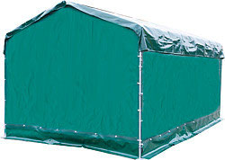 Zubehör für Mobile Boxen mit Überdachung von Patura
