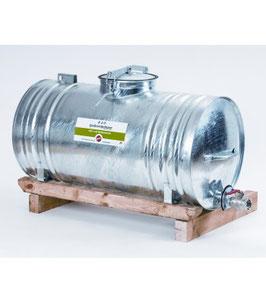 Stahlwasserfass - Lieferung FREI HAUS