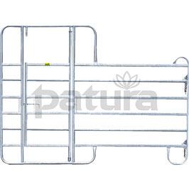 Patura Weidepanel 3,0m - Panel-6 mit Behandlungstür - Lieferung FREI HAUS
