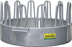 Patura Profi-Rundraufe 12 Fressplätze - Lieferung FREI HAUS
