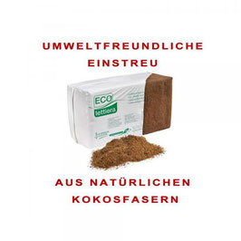 Guidolin - Einstreu aus Kokosfasern EINZELBALLEN - Lieferung FREI HAUS