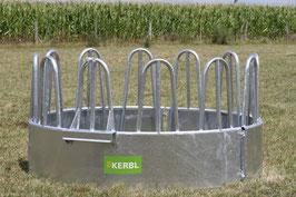 Kerbl Rundraufe mit 12 Fressplätzen - Lieferung FREI HAUS