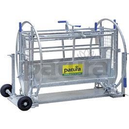 Patura Wendebox für Schafe inkl. Fahrwerk - Lieferung FREI HAUS