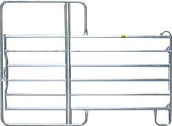 PREMIUM Patura Weidepanel mit Tor 2,4m - Panel- 6 - Lieferung FREI HAUS