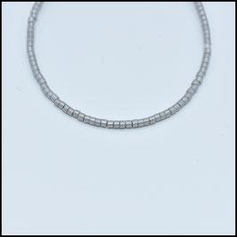Miyuki beads bracelet - Grey