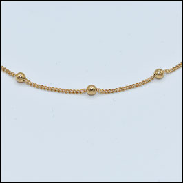 Saturn necklace - Gold