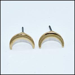 Moon earrings - gold