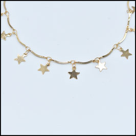 Star choker - Gold