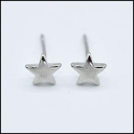 Star earrings - silver