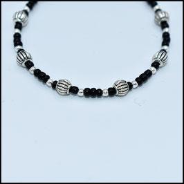 Tibetan beads bracelet - Black