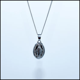 Silver necklace Mary