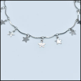 Star choker - Silver