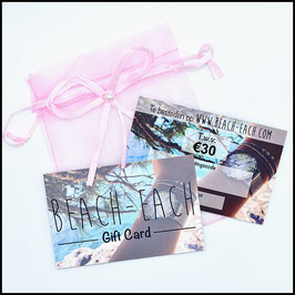 Beach-each Gift Card €30,-
